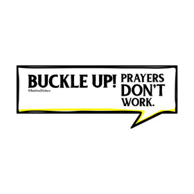 Funny Car Sticker - Buckle Up-PERSONAL-PropShop24.com