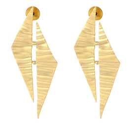 Bold Metal Foil - Earrings-JEWELLERY-PropShop24.com