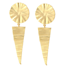 Gold Tone - Earrings-JEWELLERY-PropShop24.com