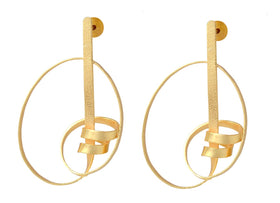 Sprial - Earrings-JEWELLERY-PropShop24.com