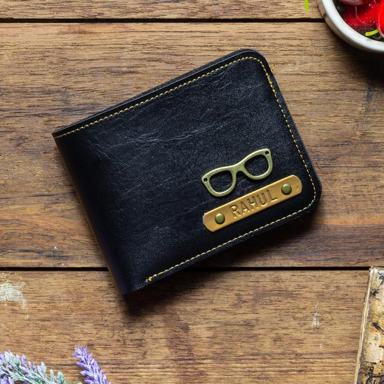 Personalized - Mens Wallet - Black - C.O.D Not Available-MEN-PropShop24.com