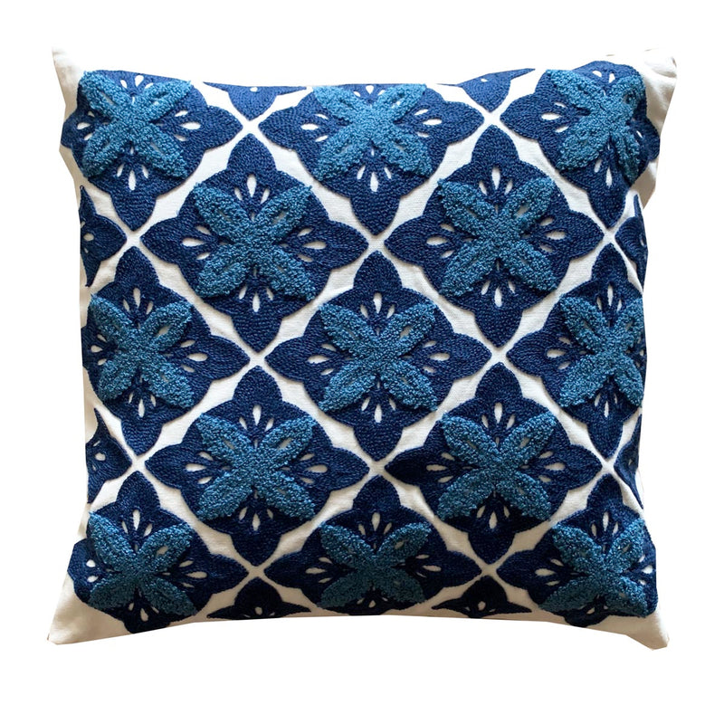Cushion Cover - Tribal - Blue-HOME ACCESSORIES-PropShop24.com