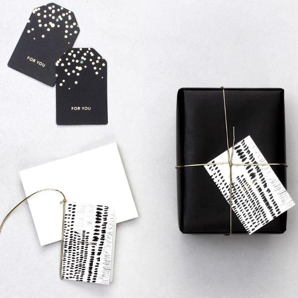 Gift Tags - Black & White-GIFTING ACCESSORIES-PropShop24.com