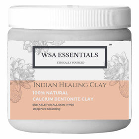 Indian Healing clay 100% Natural Bentonite Powder 400gms-BEAUTY-PropShop24.com