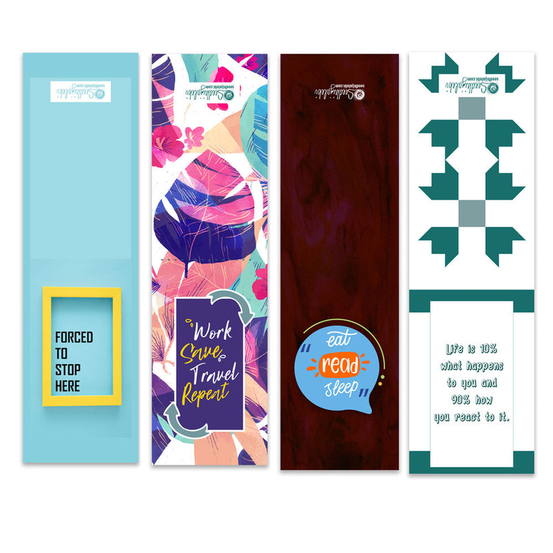 Magnetic Bookmarks - Bestseller Companions - Set Of 4-DESK ACCESSORIES-PropShop24.com
