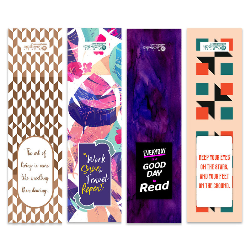 Magnetic Bookmarks - Page Markers - Set Of 4-DESK ACCESSORIES-PropShop24.com