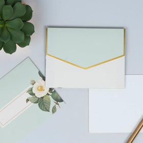 Personalized - Note card Set - Botanical - C.O.D NOT AVAILABLE-STATIONERY-PropShop24.com