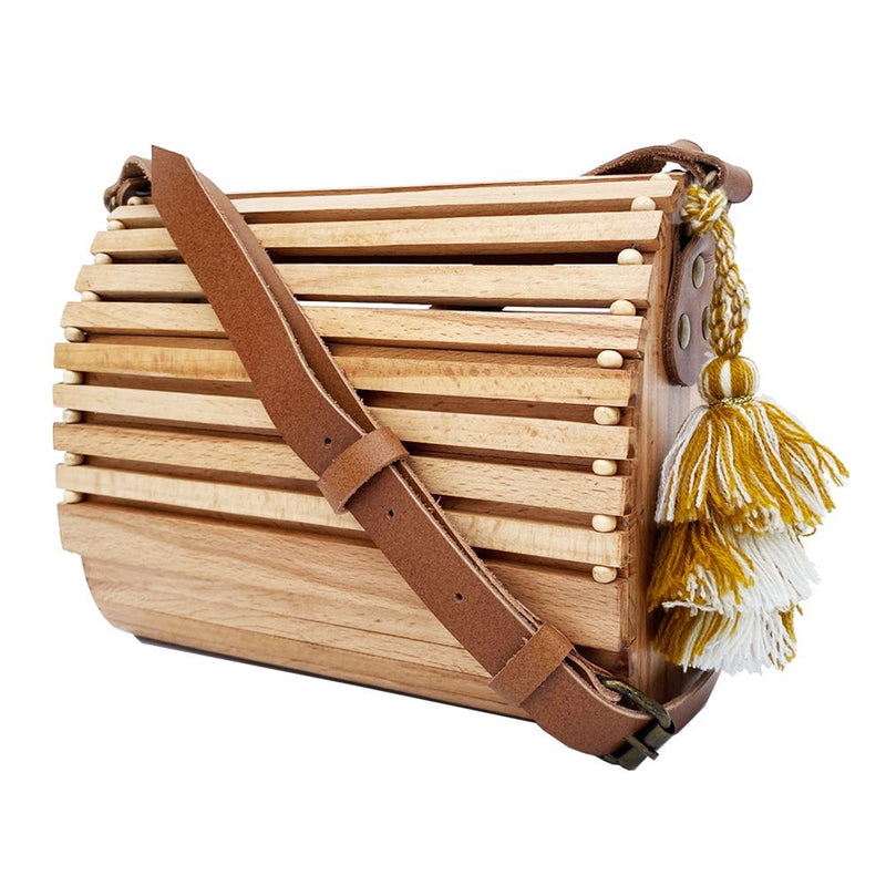 Sling Bag - Wooden Bag - Beach-WOMEN-PropShop24.com