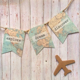 BUNTING SET - EXPLORE-Home-PropShop24.com
