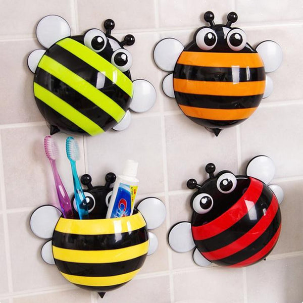 Bee Toothbrush Holder -Yellow-Home-PropShop24.com