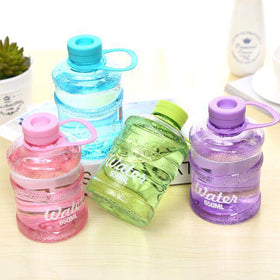 Barrel Water Bottle - Purple-HOME-PropShop24.com