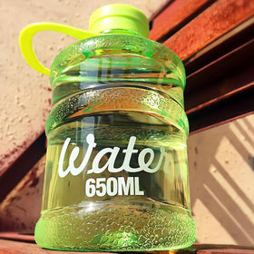Barrel Water Bottle - Green-HOME-PropShop24.com