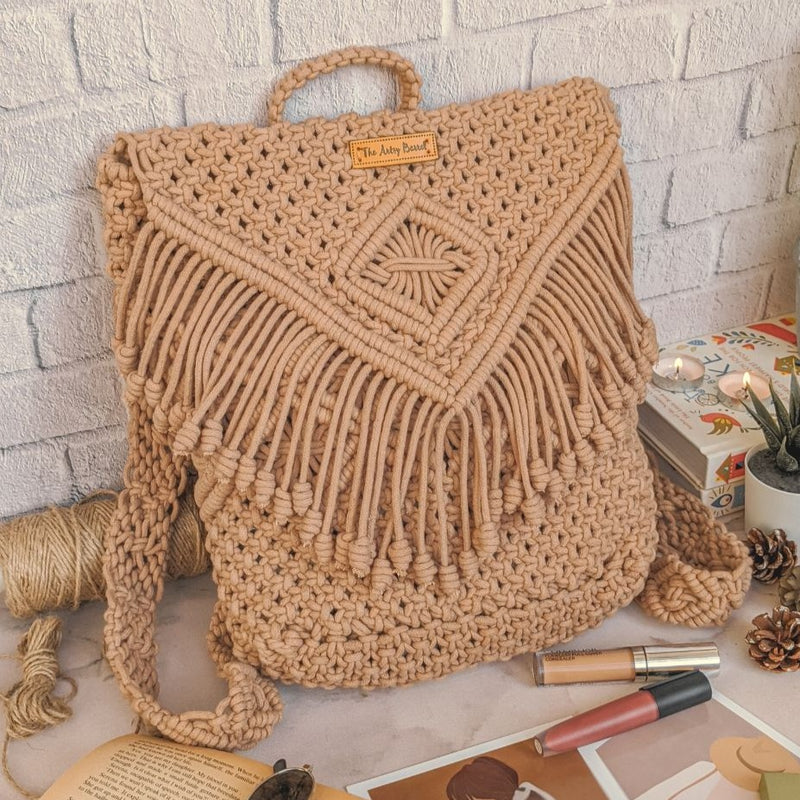 Macrame Boho Backpack-WOMEN-PropShop24.com
