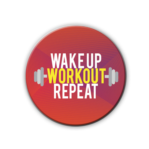 Badge/Magnet - Workout-HOME-PropShop24.com