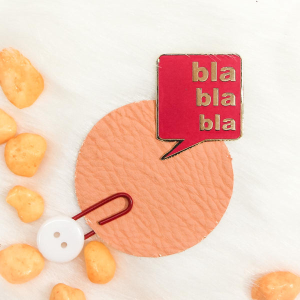 Fashion Pin - Bla Bla Bla-FASHION-PropShop24.com