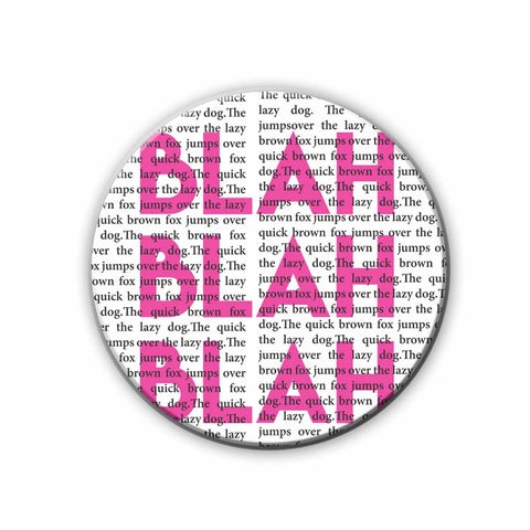 Magnet / Badge - Blah Blah