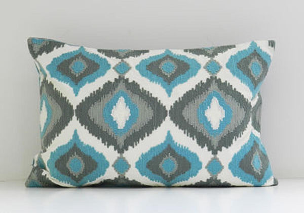 Cushion Cover - Blue ogee-HOME-PropShop24.com