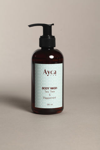 Body wash - Tea Tree + Peppermint-Beauty-PropShop24.com