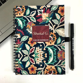Personalized - Forever Notebook - Bold Floral - C.O.D NOT AVAILABLE-STATIONERY-PropShop24.com