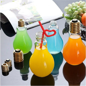 Bulb Mason Jar - Set of 2-HOME-PropShop24.com