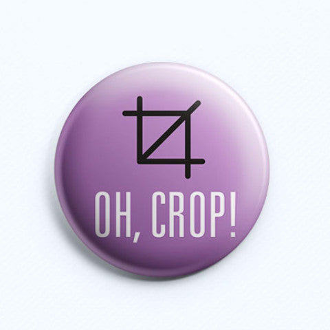 Oh Crop Badge