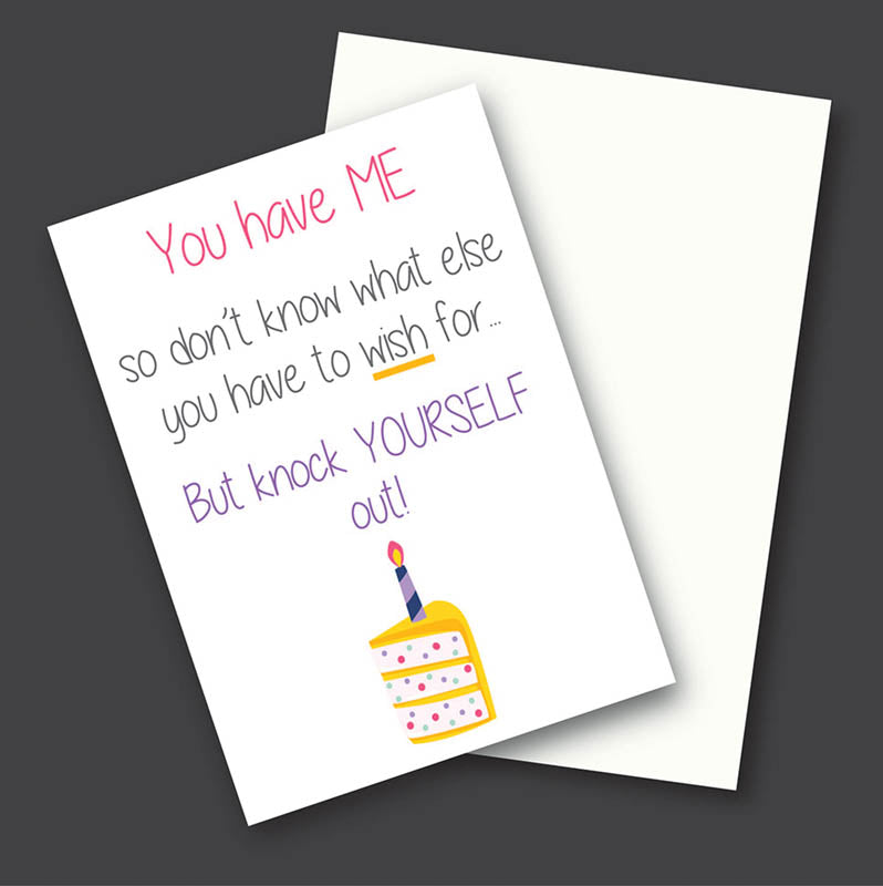 Greeting Card - You Have Me-GREETING CARDS-PropShop24.com