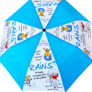 Umbrella - Rains And Me - 3 Fold Automatic-TRAVEL ESSENTIALS-PropShop24.com