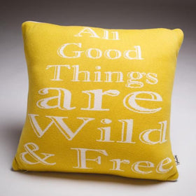 All Good Things are wild and free Cushion Cover-HOME-PropShop24.com