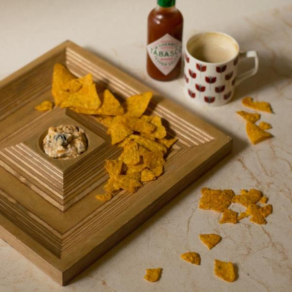 Wooden - Serving Platter - Square-DINING + KITCHEN-PropShop24.com
