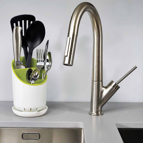 Cutlery Drainer and Organizer - green-Home-PropShop24.com