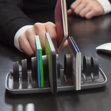 desk organiser - black-HOME-PropShop24.com
