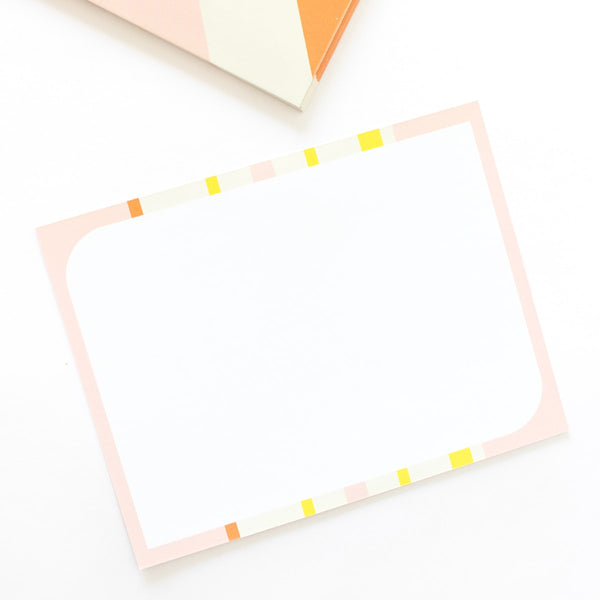 Notecards - Geoemtric Soft - Set of 10-Stationery-PropShop24.com