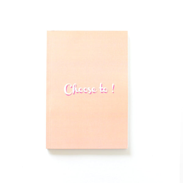 Notebook - Choose To-STATIONERY-PropShop24.com