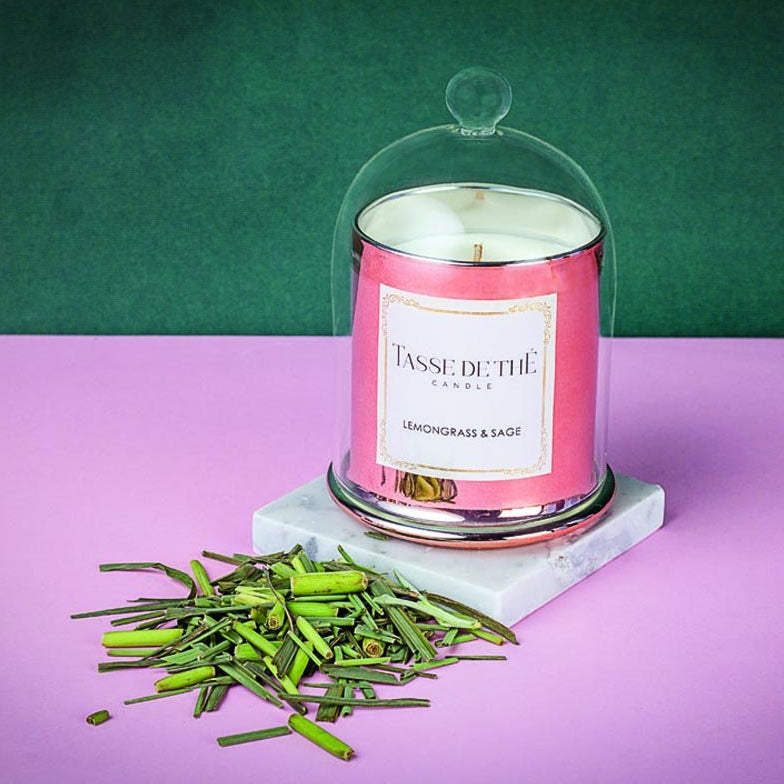 Candle - Princely Lemongrass And Sage-CANDLES + AROMA-PropShop24.com