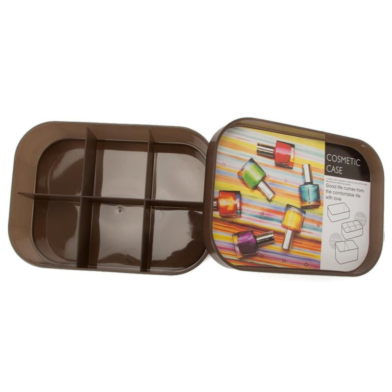 Cosmetic Case - Brown-ORGANIZERS-PropShop24.com