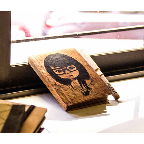 Vintage Notebook - Nerd Girl - propshop-24