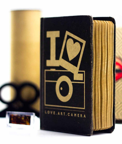 Vintage Notebook - Love Art Camera-Stationery-PropShop24.com