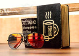 Vintage Notebook - Coffee-Stationery-PropShop24.com