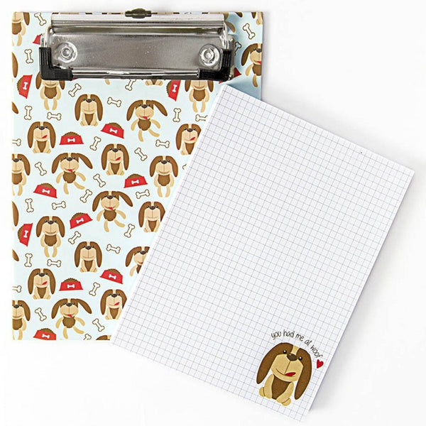 Clipboard + Scribble Pad - You Had Me At Woof - propshop-24 - 1