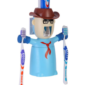 Toothpaste Dispenser - Warrior - Blue - propshop-24