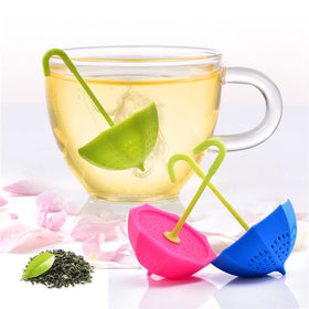 Tea Infuser - Umbrella - Pink-Home-PropShop24.com