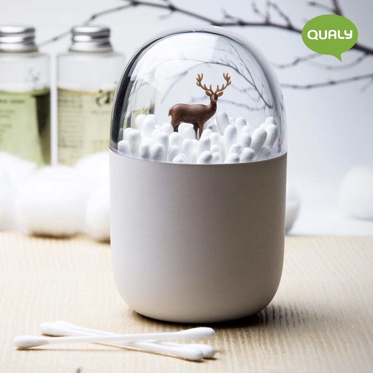 Cotton Bud Holder Organiser Perfectly Designed Great For Keeping Cotton Bud Safe