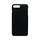 iPhone 7 plus or 8 plus Leather Case - BLACK color-GADGETS-PropShop24.com