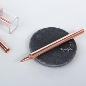 Personalized Pen - Rose Gold Brass - C.O.D Not Available-STATIONERY-PropShop24.com