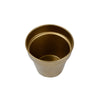 Capsule Oval Shaped Metal Planter - Gold-HOME ACCESSORIES-PropShop24.com