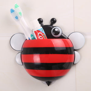 Toothbrush Holder - Bee - Red-BATHROOM ESSENTIALS-PropShop24.com