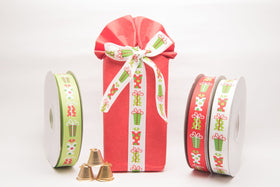 Ribbon - Green gift box-STATIONERY-PropShop24.com