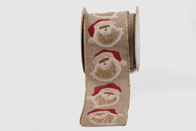 Ribbon - Santa face-STATIONERY-PropShop24.com