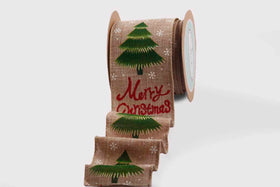 Ribbon - Large Christmas tree-STATIONERY-PropShop24.com