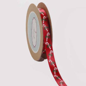 Ribbon - Red candy cane-STATIONERY-PropShop24.com
